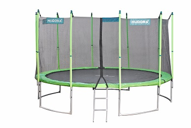 family trampolin 400 65641 hudora trampoline. Black Bedroom Furniture Sets. Home Design Ideas