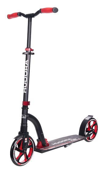 Hudora Big Wheel Flex 200 rot / grün