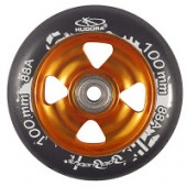 1 Wheel Alu Core inkl. Chrom-Kugellager ABEC-7 gold